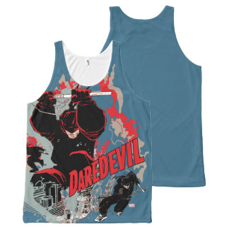 Daredevil Action Graphic All-Over Print Singlet