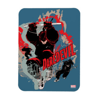 Daredevil Action Graphic Magnet
