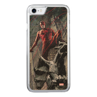 Daredevil Atop A Gargoyle Carved iPhone 7 Case