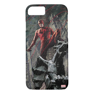 Daredevil Atop A Gargoyle iPhone 7 Case