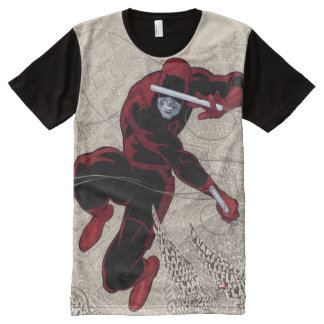 Daredevil City Of Sounds All-Over Print T-Shirt