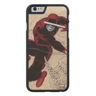 Daredevil City Of Sounds Carved Maple iPhone 6 Case