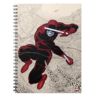 Daredevil City Of Sounds Spiral Notebook