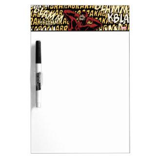 Daredevil Deafening Explosions Dry Erase Board