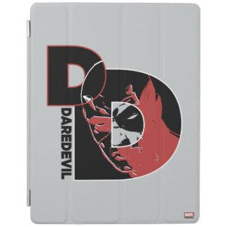 Daredevil Face In Logo iPad Cover