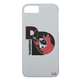 Daredevil Face In Logo iPhone 7 Case