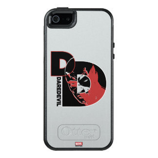 Daredevil Face In Logo OtterBox iPhone 5/5s/SE Case