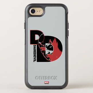 Daredevil Face In Logo OtterBox Symmetry iPhone 7 Case
