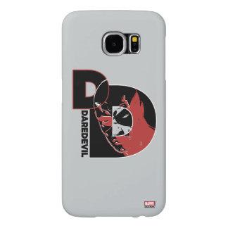 Daredevil Face In Logo Samsung Galaxy S6 Cases