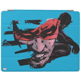 Daredevil Face Silhouette iPad Cover