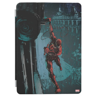 Daredevil Hanging From A Ledge iPad Air Cover