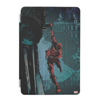 Daredevil Hanging From A Ledge iPad Mini Cover