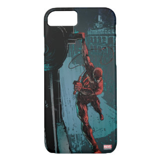 Daredevil Hanging From A Ledge iPhone 7 Case