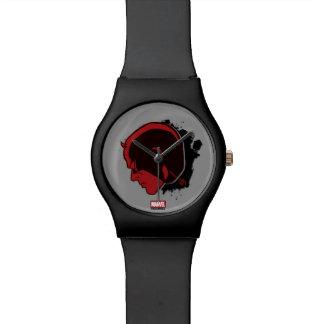 Daredevil Head Profile Watch