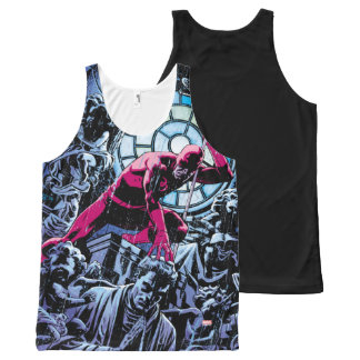 Daredevil Inside A Church All-Over Print Singlet