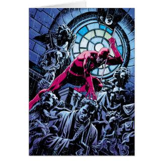 Daredevil Inside A Church Card