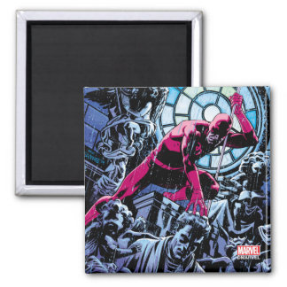 Daredevil Inside A Church Magnet