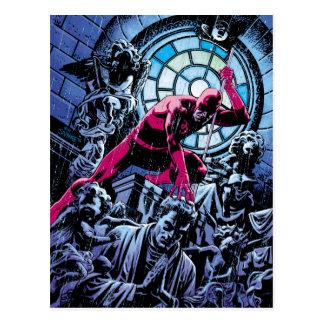 Daredevil Inside A Church Postcard