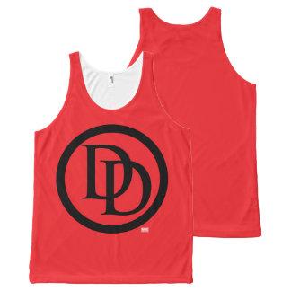 Daredevil Logo All-Over Print Singlet