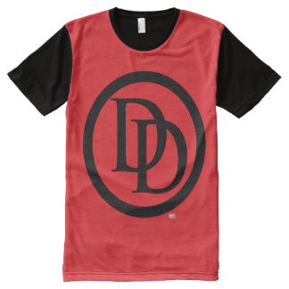 Daredevil Logo All-Over Print T-Shirt