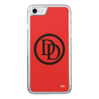 Daredevil Logo Carved iPhone 8/7 Case