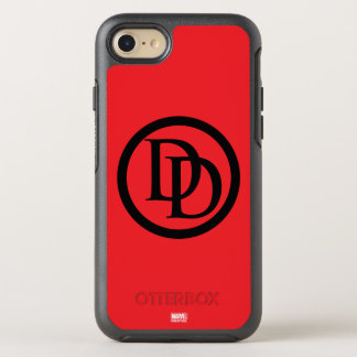 Daredevil Logo OtterBox Symmetry iPhone 8/7 Case