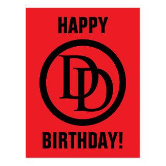 Daredevil Logo Postcard
