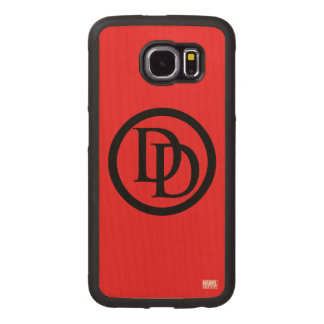 Daredevil Logo Wood Phone Case