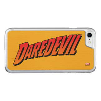 Daredevil Name Logo Carved iPhone 7 Case
