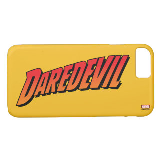 Daredevil Name Logo iPhone 7 Case