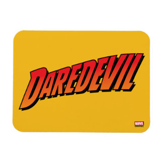 Daredevil Name Logo Magnet