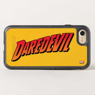 Daredevil Name Logo OtterBox Symmetry iPhone 7 Case