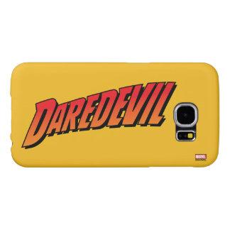 Daredevil Name Logo Samsung Galaxy S6 Cases