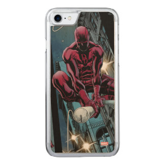 Daredevil Running Through The City Carved iPhone 7 Case