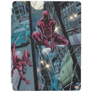 Daredevil Running Through The City iPad Cover