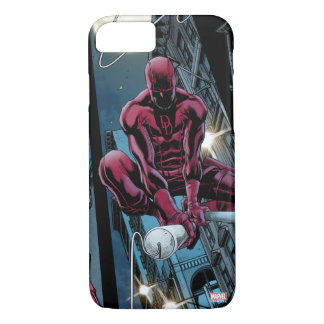 Daredevil Running Through The City iPhone 7 Case