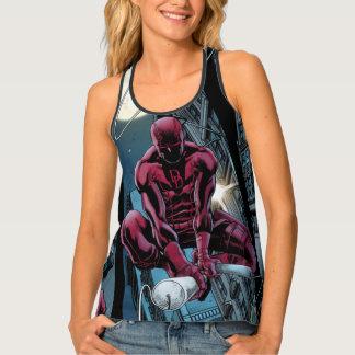 Daredevil Running Through The City Singlet