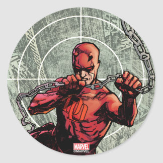 Daredevil Senses Classic Round Sticker