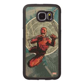 Daredevil Senses Wood Phone Case
