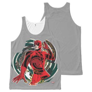 Daredevil Sensory Swirl All-Over Print Singlet