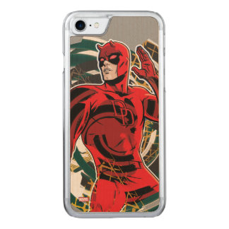 Daredevil Sensory Swirl Carved iPhone 7 Case