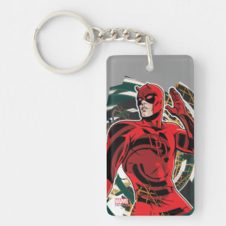 Daredevil Sensory Swirl Key Ring
