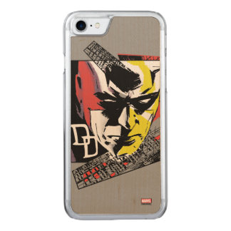 Daredevil Tri-Color Scaffolding Graphic Carved iPhone 7 Case