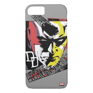 Daredevil Tri-Color Scaffolding Graphic iPhone 7 Case