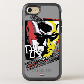 Daredevil Tri-Color Scaffolding Graphic OtterBox Symmetry iPhone 8/7 Case
