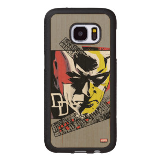 Daredevil Tri-Color Scaffolding Graphic Wood Samsung Galaxy S7 Case