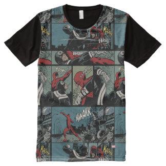 Daredevil Versus Bullseye All-Over Print T-Shirt