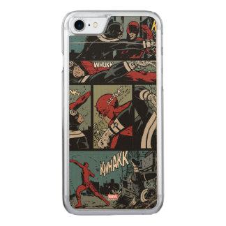 Daredevil Versus Bullseye Carved iPhone 8/7 Case