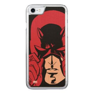 Daredevil's Mask Carved iPhone 8/7 Case