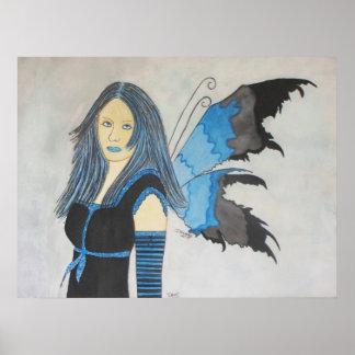 Dari Gothic Faery Poster